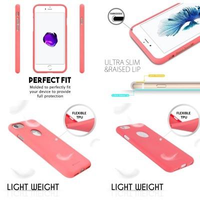 iPhone 6/6S Capa Fina Silicone Soft Feeling Goospery