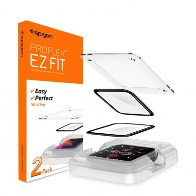 (Pack 2) Películas de Protecção Spigen ProFlex EZ FIT para Apple Watch Series 6/SE/5/4 - 40mm
