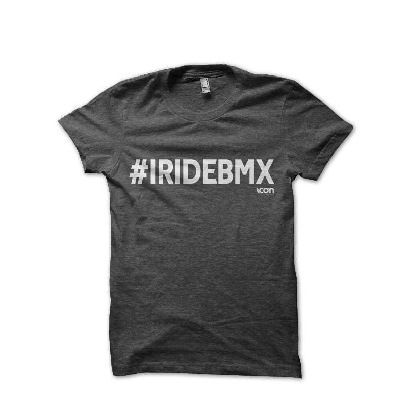 icon bike store - I RIDE BMX T-shirt ICON