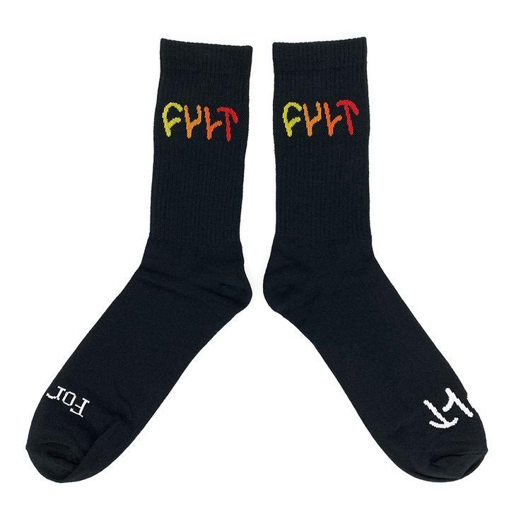 Cult - Multicolor Logo Socks