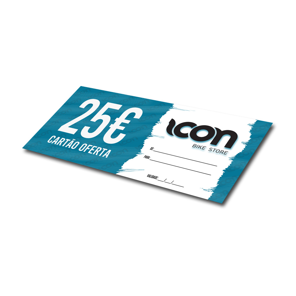 icon bike store - Cartão Oferta 25€