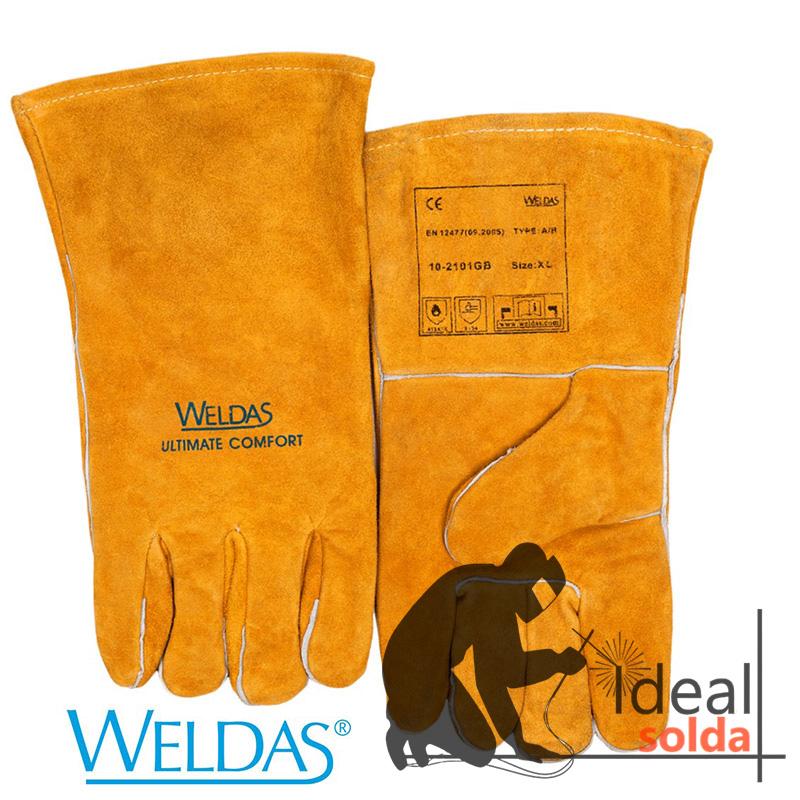 WELDAS Luva para MIG MAG e ELETRODO 10-2101GB