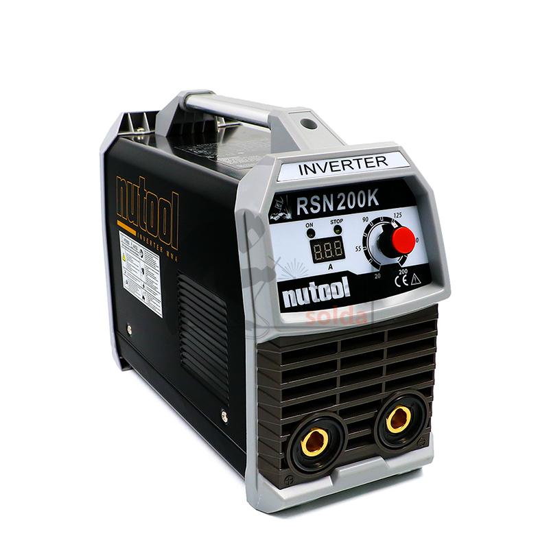 Nutool Aparelho Inverter de Soldar Eletrodos MMA 200 AMP