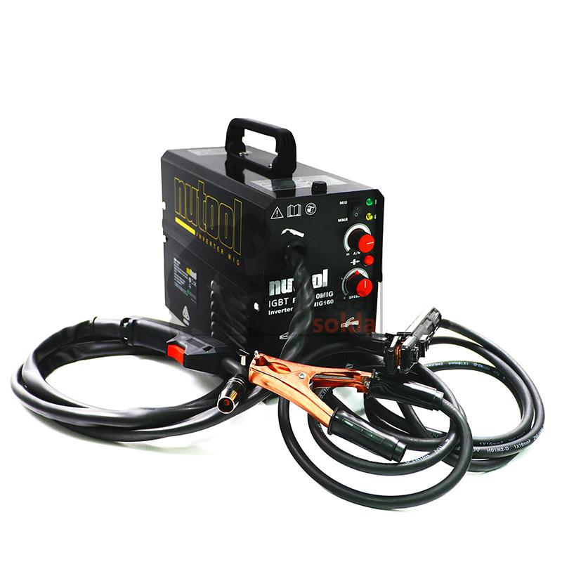 Nutool TechMig160 - Soldador a Fio sem gás e Eletrodo