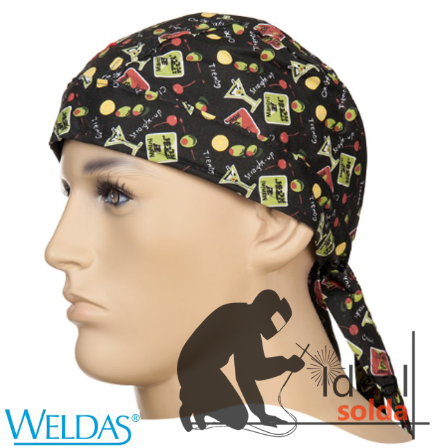 WELDAS Touca Bandana Happy Hour 23-3606