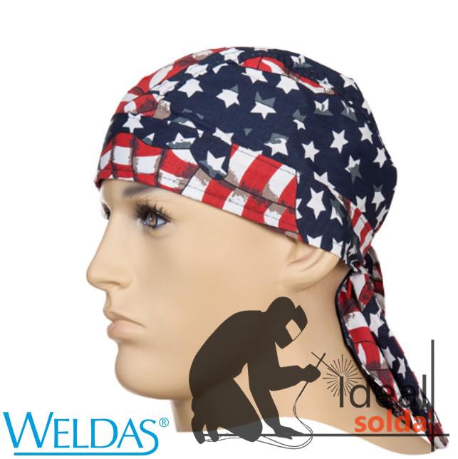 WELDAS Touca Bandana USA Flag 23-3604