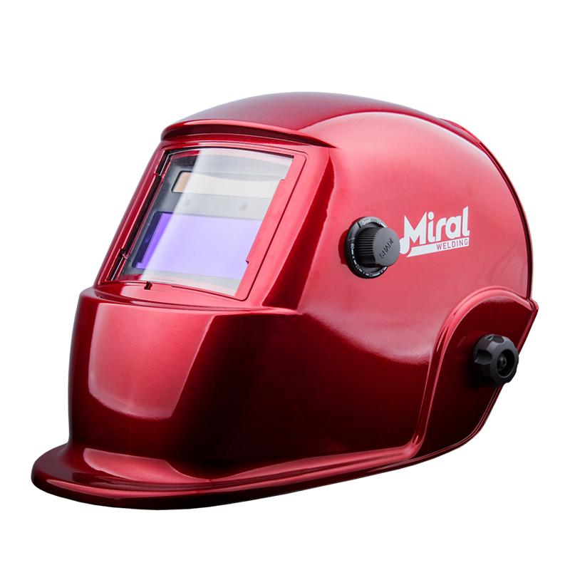 MIRAL Máscara de Soldadura Automática RED 510G