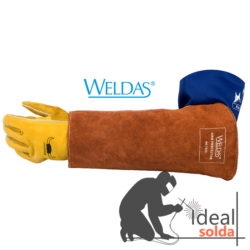 WELDAS Proteção de braço Lava Brown 44-7028