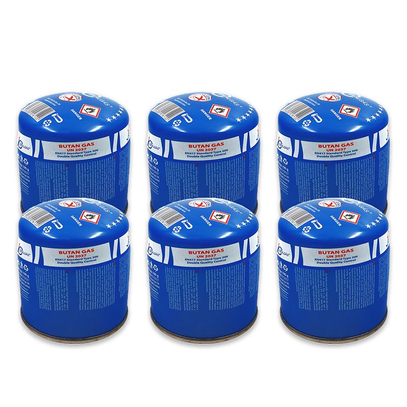Cartucho de Gás Butano 190gr - Pack de 6