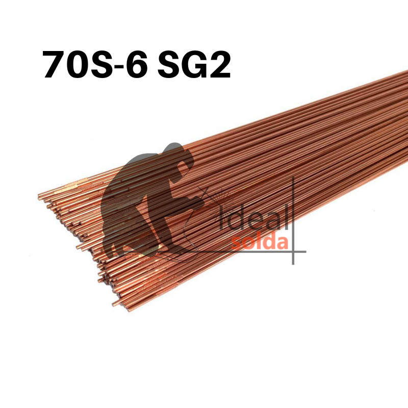 Vareta TIG Aço Carbono 70S-6 SG2 - Caixa de 5kg