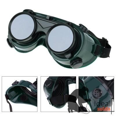 Óculos de Proteção Soldador Oxi Rebatíveis