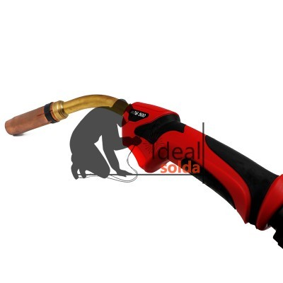 Red Star Tocha Pistola MIG 500 Refrigerada Água - 4 metros
