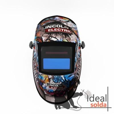 Lincoln Weldline Street Art Chameleon 3VO Máscara Automática - Edição Limitada