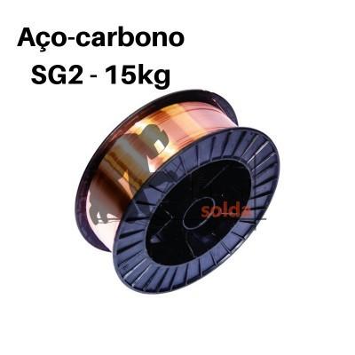 Fio Arame Sólido SG2 ER-70S-6 Bobine 15 Kg