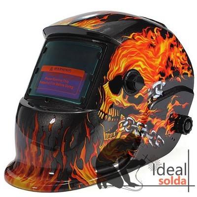 Máscara de Soldadura Automática FIRE SKULL
