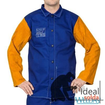 WELDAS Casaco Yellowjacket Algodão Mangas de Pele 33-3060