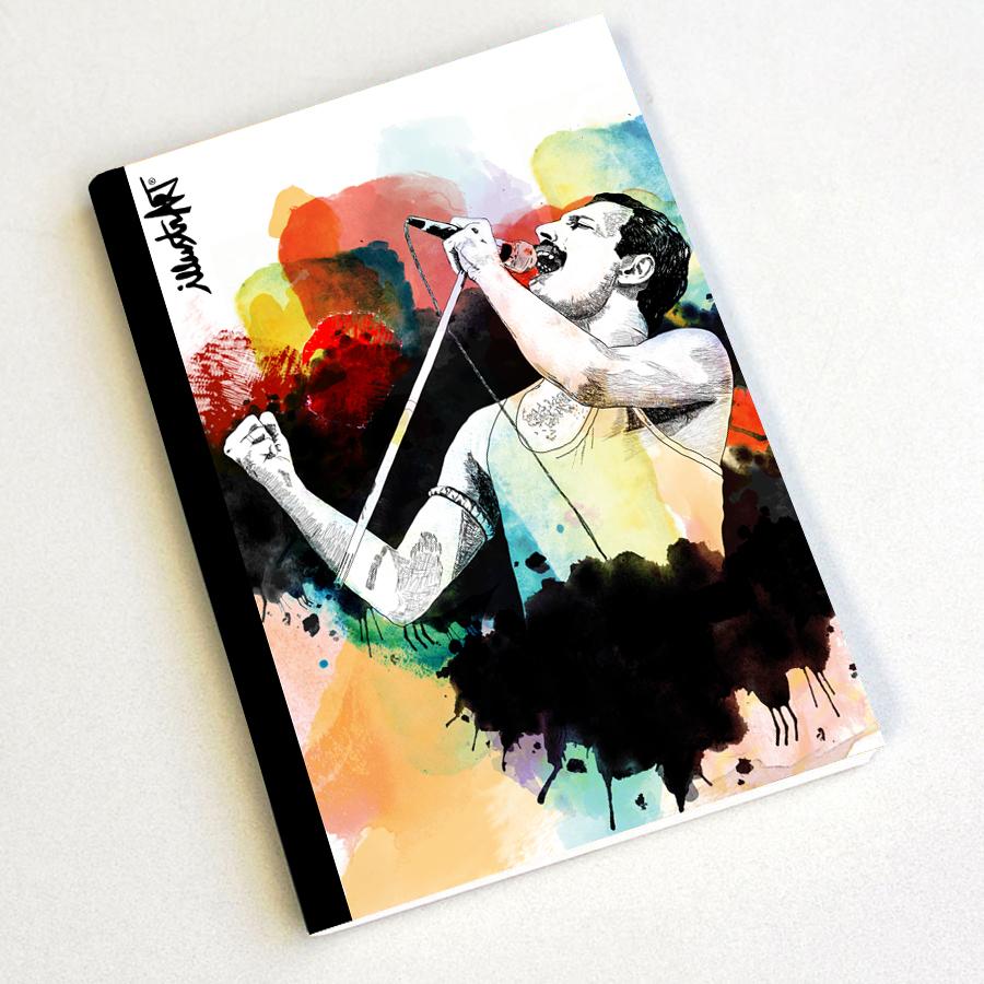 notebook Freddie Mercury * Queen