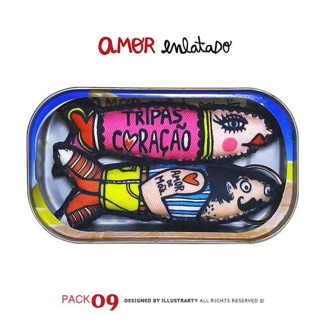 AMOR ENLATADO PACK 09