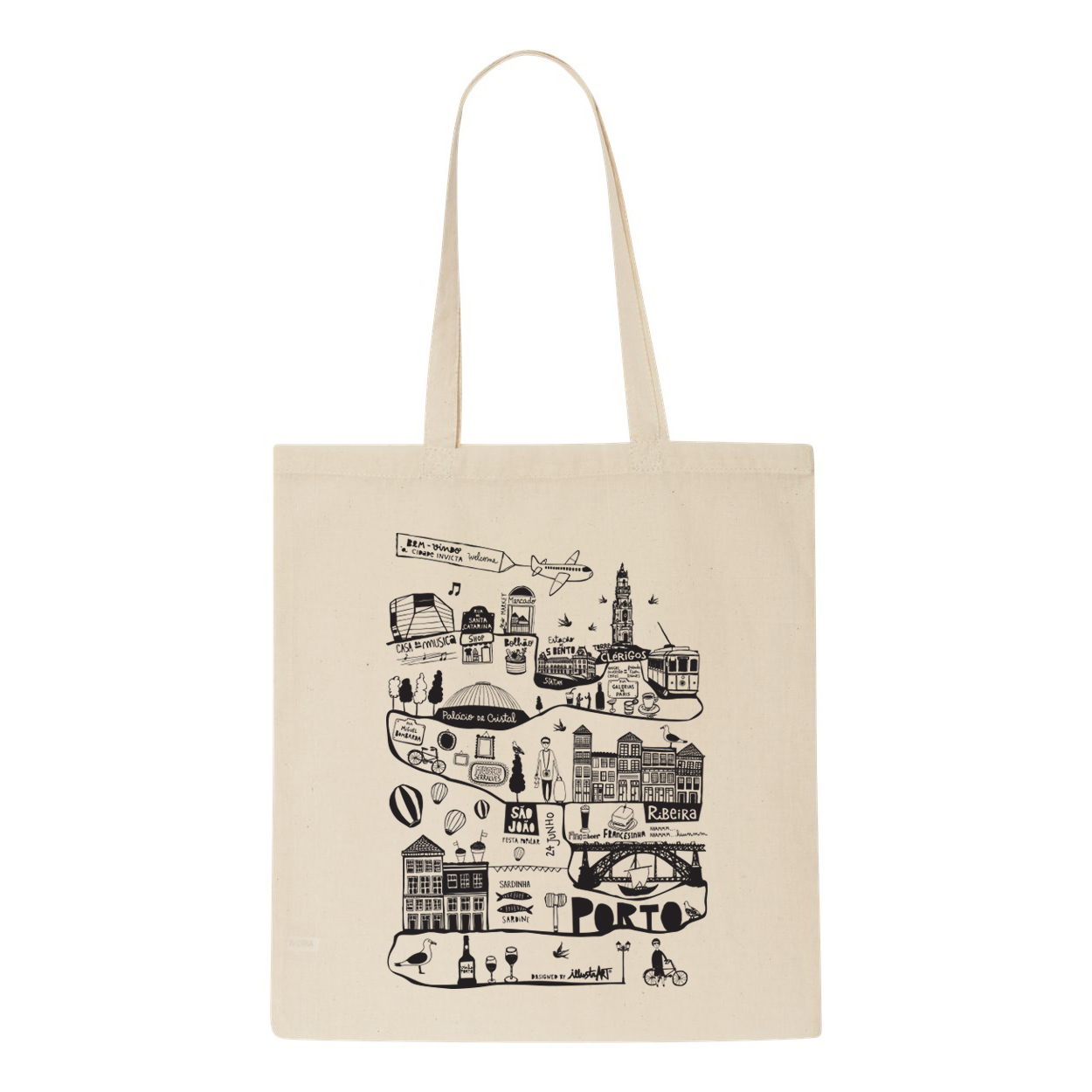 tote bag made in porto