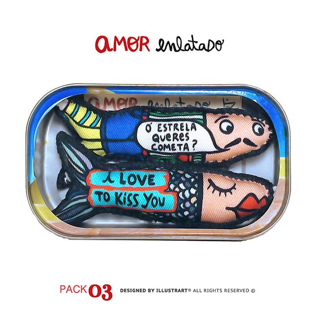 AMOR ENLATADO PACK 03
