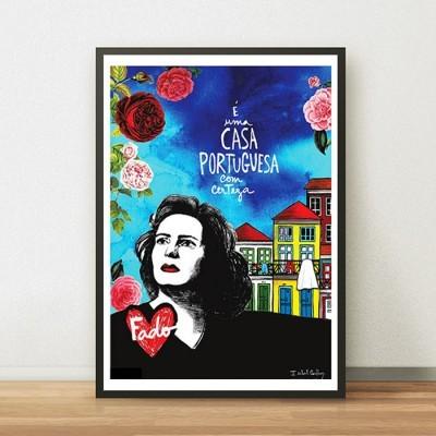 Poster Casa Portuguesa
