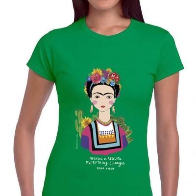 Tshirt FRIDA Green Edition SENHORA