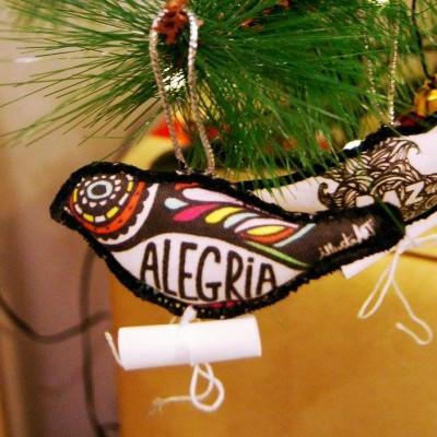 Pássaro de Natal - ALEGRIA