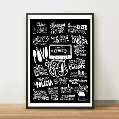Poster Música Portuguesa