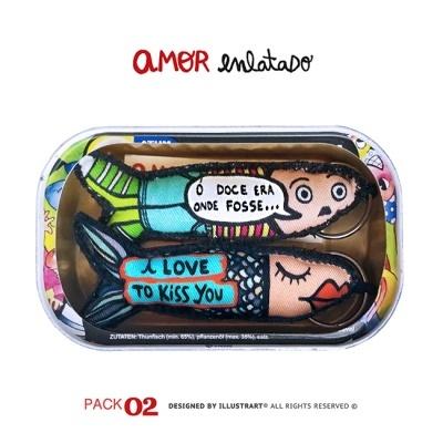 AMOR ENLATADO PACK 02