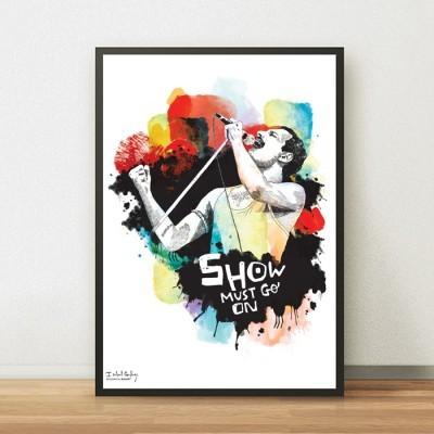 Poster Freddie Mercury * QUEEN