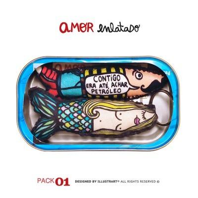 AMOR ENLATADO PACK 01