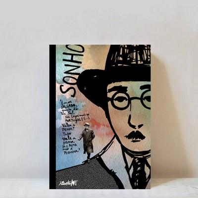 caderno Fernando Pessoa A6