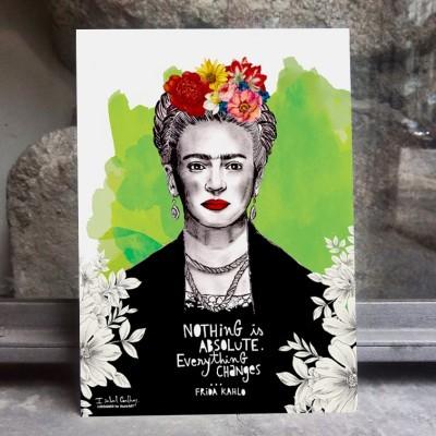 ilustração Frida Kahlo