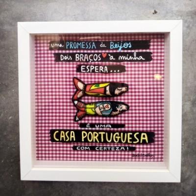 QUADRO 3D CASA PORTUGUESA