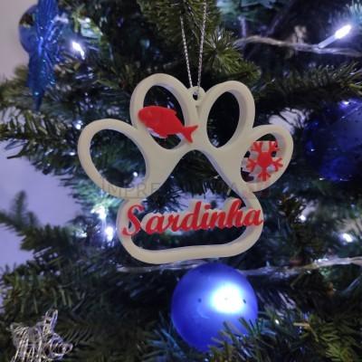 Decoração Árvore de Natal - Patudos