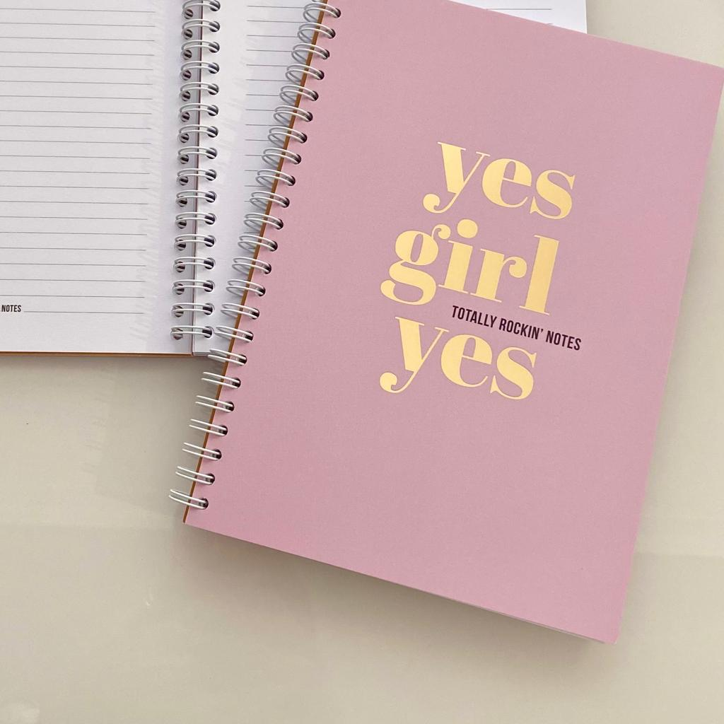 Caderno Yes Girl Yes