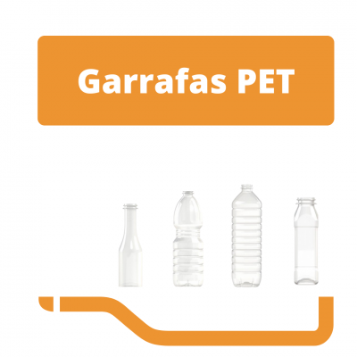Garrafas PET