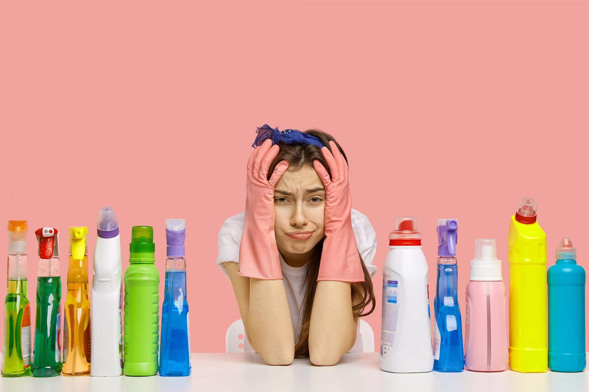 produtos de limpeza que provocam alergias