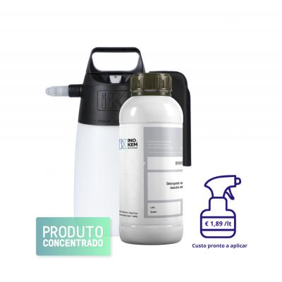 Detergente e repelente BIOSET com pulverizador Nebu 1