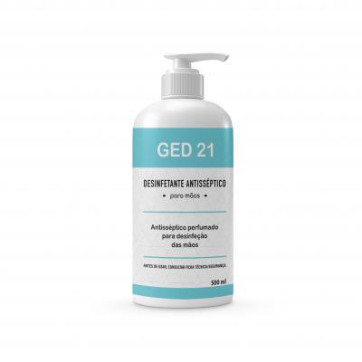 Álcool gel perfumado 500 ml - Ged 21