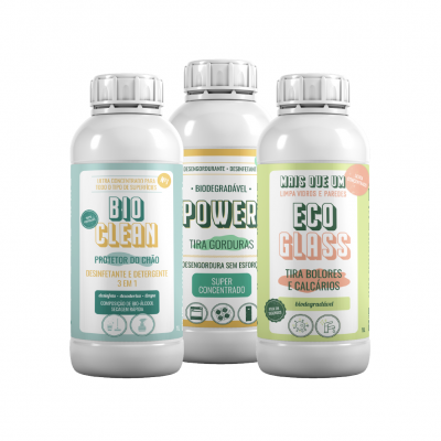 Pack Poupança 95 - Bio clean | POWER | Eco-glass
