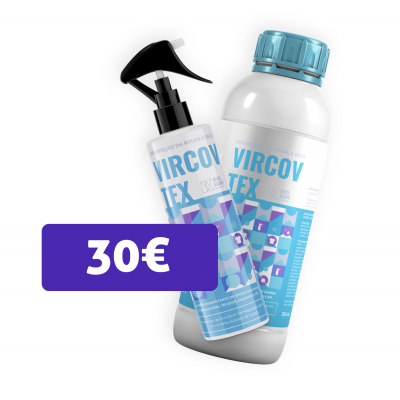 Vircov tex 250ml + Vircov tex 1L PROMO