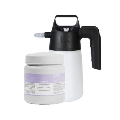 Pack pastilhas Acticlor com Pulverizador Nebu 1 - Nova geração de lixívia - 200 uni
