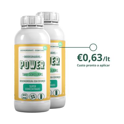 2 litros do Desengordurante e desinfetante multiusos - POWER