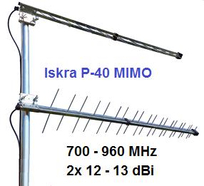 Antena Iskra P-40 MIMO - 4G/LTE
