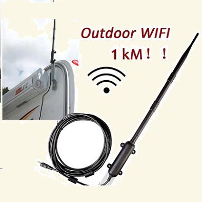 Rocket - Potente antena Wifi USB