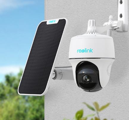 Reolinl Argus PT _Camera de vigilância 100% sem fios com painel solar
