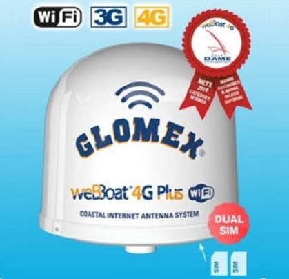 Router Maritimo  4G da empresa italiana Glomex