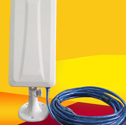 Antena Wifi direccional com 14 dBi  USB