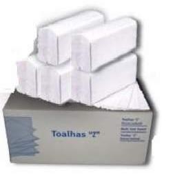 Toalha de Mão Zig-Zag Tissue